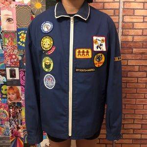 Vintage London Fog Boy Scouts Jacket